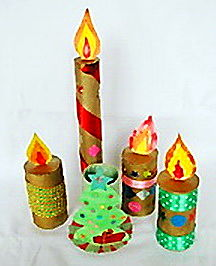 Christmas-Candle-Crafts